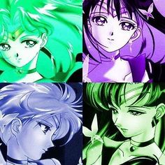 The Outer Sailor Scouts