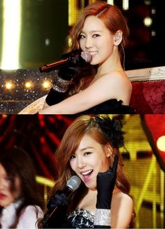 "Girls' Generation: Taeyeon and Tiffany performing ""Lady Marmalade"" @ SBS K-pop Star <3 TaeNy <3"
