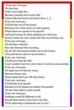 Awwww//this is lovely except he mixed up gender and sexual orientation I think xx
