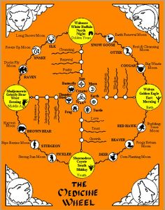 ♥Native American Medicine Wheel♥ Make one anywhere--any size, any natural substance, such as rocks, crystals, stones, etc!