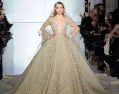 Wedding dress Zuhair Murad Haute Couture spring summer 2015