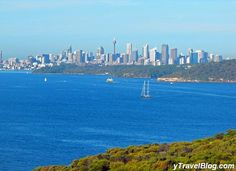 View of Sydney from North Head, Manly, Australia