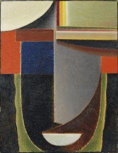 'Abstrakter Kopf' (Abstract Head) by Alexej Von Jawlensky, 1933