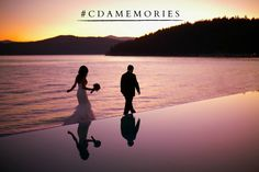 There's no substitute for a wedding along the shimmering waves of Lake Coeur d'Alene. What #cdamemories will you dream up? http://www.cdaresort.com/meetings-weddings/weddings