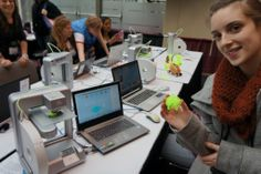 MakerKids | Makerspace for kids in Toronto, Canada. 3D printing, electronics, Arduino, Minecraft, woodworking, sewing, crafting, hacking, ti...
