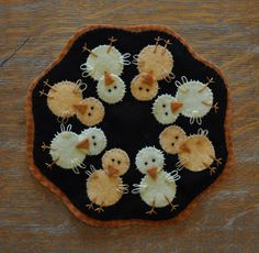 Little Chick Penny Rug