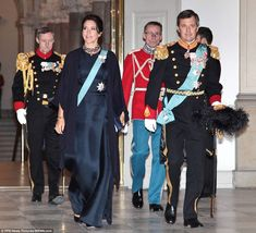 Crown Princess Mary and Crown Prince Frederik were in attendance for day two of the New Year's reception