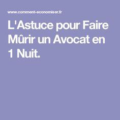 L'Astuce pour Faire Mûrir un Avocat en 1 Nuit.