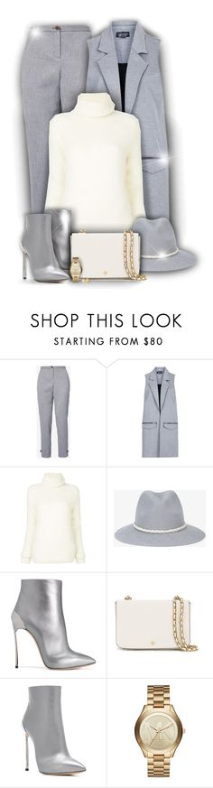 """""""Vest for Fall! (OUTFIT ONLY!) - Contest!"""" by asia-12 ❤ liked on Polyvore featuring Ted Baker, Topshop, Yves Saint Laurent, YOSUZI, Casadei, Tory Burch, Michael Kors and Kenneth Jay Lane"""