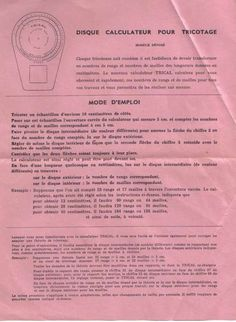tricots main et machines rétro vintage a aujourd'hui - (page 2) - Le Bontemps rétro pinup vintage Pin Up, Personalized Items, Hui, Images, Vintage, Crochet, Knitting Machine, Punched Card, User Guide