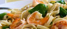 shrimp-and-spinach-fettucine