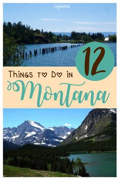 12 Things to do in Montana | Things to do in Flathead Valley, Montana | Hiking in Glacier National Park | Top Activities to do in Montana | Summer Sunsets in Montana | Montana in Summer | Montana in Winter | #GlacierNationalPark #Montana - California Globetrotter