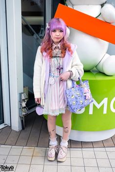 RT @TokyoFashion: Ombre Hair, Candy Stripper x Snoopy, Milk & Milklim in Harajuku http://flip.it/KfOBz
