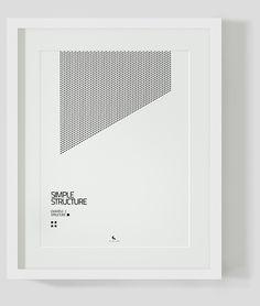 SIMPLE STRUCTURE by Michał Stróż, via Behance