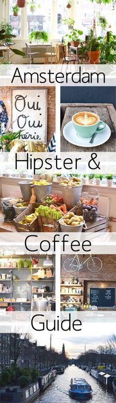 The ultimate Hipster & Coffee Amsterdam Guide Travel To Do, Travel Goals, I Amsterdam, Amsterdam Things To Do In, Amsterdam Travel Guide, Amsterdam Shopping, Amsterdam Netherlands, Amsterdam Restaurant, Travel Netherlands