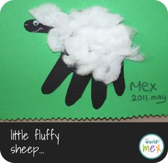 i can never get enough of handprint art activities for kids!