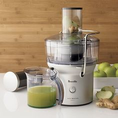 Breville® Compact Juice Extractor in Juicers | Crate and Barrel