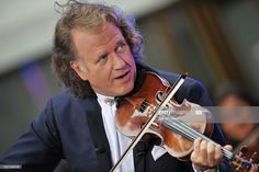 News Photo : Dutch violinist Andre Rieu performs on NBC's. Classical Music, Dutch, News, Face, Painting, Xmas, World, Guitars, Musicians