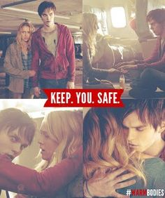 they are so cute together!!!! #human/zombie couples in, human/vampire couples out;)