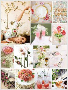 wild rose inspiration board