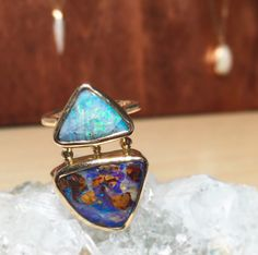 Some newness is debuting at D&A NY, we're here until tomorrow! #oneofakind #boulderopal #designersandagents