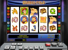 Slot machines Marco Polo for money.   This slot game developed by Novomatic, dedicated Marco Polo and his famous journey through Asia. The game takes place in the unit 5 reels and 9 paylines. In it there is a game to double, and a symbol Wild, which significantly increases the chances of getting a win. Also in the online