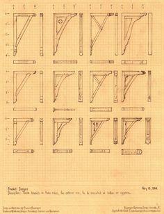 Twelve Bracket Designs by Built4ever on DeviantArt