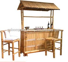 Bamboo Roof, Pergola, Outdoor Structures, Bar, House, Furniture, Search, Google, Home Decor
