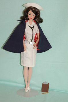 "~* ""The Nurse"" Barbie Silkstone Fashion Model 2006 *~ #MATTEL #SilkstoneFashionModel"