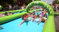 Join us at Slide the City, Saturday, June 4th. Reno will have a record-breaking water slide (1,000ft) to kick off summer.