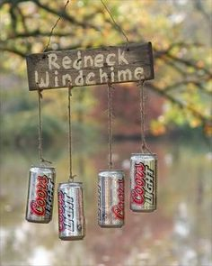 DIY redneck windchime  - need to make for Val