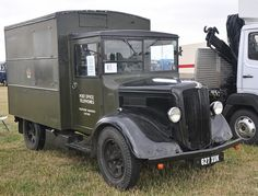 Vintage Trucks, Old Trucks, Old Lorries, Old Commercials, British Rail, Commercial Vehicle, Royal Mail, Post Office, Old Cars