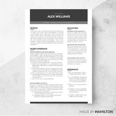 zone resume template cover letter