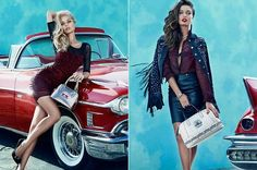 Guess Accessories Fall 2013 Campaign  #guess #fashion