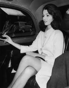 Christine Keeler, the Profumo Affair 1963