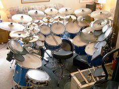 very inspiring Big Drum Set