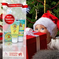 Save more than on Badger Baby gift set. Christmas Baby, Christmas Christmas, Baby Gift Sets, Baby Gifts, Badger, Elf On The Shelf, Wraps, Gift Wrapping, Seasons