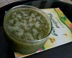 Suco de kiwi com hortelã - Bata 2 kiwis maduros descascados com 10 folhas de hortelã, um copo de água e 4 gotas de adoçante stevia.