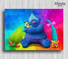 Trolls Wall Decor Dreamy Trolls Decorating Ideas For Bedrooms On Dreamworks Trolls Movie Posters