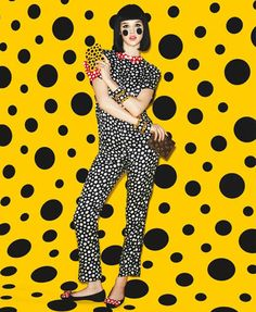 If It's Hip, It's Here: Louis Vuitton's Infinitely Kusama Collection (And All Its Hype) Will Have You Seeing Spots.