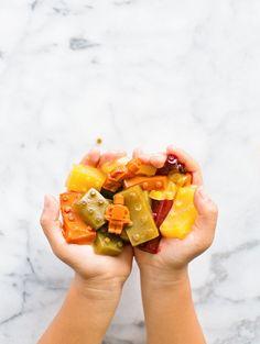 FRUIT AND VEGGIE LEGO GUMMIES Recipe on Yummly. @yummly #recipe