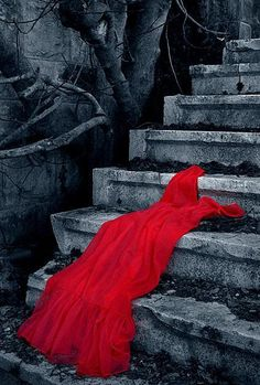 I love the symbolism of red. The sexiness, the romance, and most importantly love...