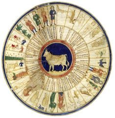 Ilustración del Libro de astromagia. Taurus. Biblioteca Vaticana