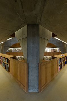 Libraries are amazing spaces. Exeter Library. Atrium. Louis Kahn. Exeter, New Hampshire, 1972.
