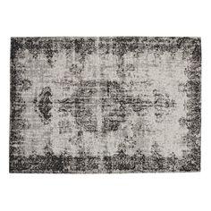 VILLANDRY rug in black 140 x 200cm