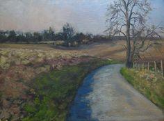 Sunrise Fields by Todd Derr Oil ~ 12 x 16