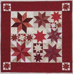 Rapid Fire Quilt Pattern | Rapid Fire LeMoyne Star