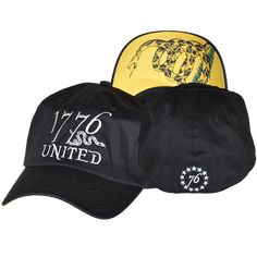 1776 United® Logo Flexfit Don t Tread On Me Edition - CURVED BILL d4c9d715440
