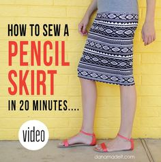 http://www.danamadeit.com/2015/03/how-to-sew-a-knit-pencil-skirt-in-20-minutes.html