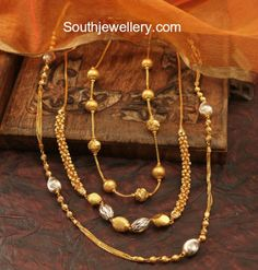 Simple Gold Chain Models photo #GoldJewelleryHouse